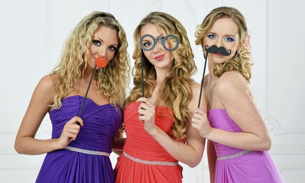 Two or Four-Hour Photo-Booth Rental from Still & Motion Media (Up to 51% Off)