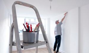 Nicoletta Ricci: Tinteggiatura con 2 mani di pittura, stuccatura e copertura mobili fino a 90 m² a Roma (sconto fino al 77%)