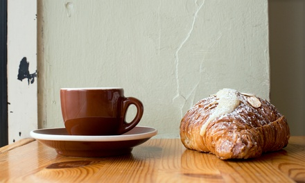 $12 for 4 Groupons, Each Good for $5 Worth of Coffee and Baked Goods at The Break Room ($20 Total Value)