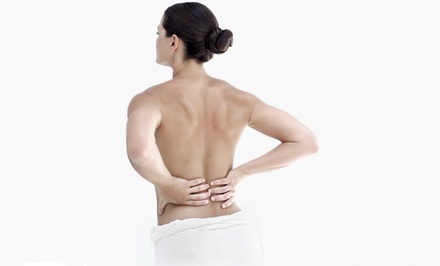 $59 for Chiropractic Package with Exam, X-rays, and Massage at Power Chiropractic & Wellness ($345 Value)