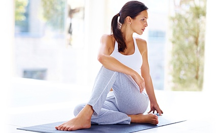 10 Classes or One Month of Unlimited Classes at Hegel Yoga (68% Off)