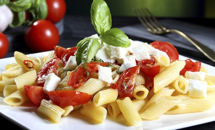 Italian Cuisine for Dinner for Two or Four at La Piazzetta (38% Off)