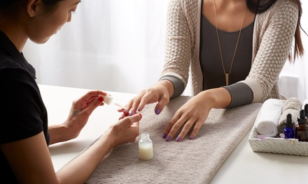 One Mani-Pedi, One Shellac Manicure, or One Full Set of Short, Medium, or Long Acrylics at Arkansas Beauty School