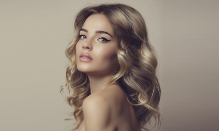 Cut, Finish and Full or Half-Head of Highlights or Full-Head of Colour for One at Hairticians (Up to 56% Off)
