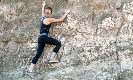 Curso de iniciación a la escalada para una o dos personas desde 9,95 € en rocas naturales