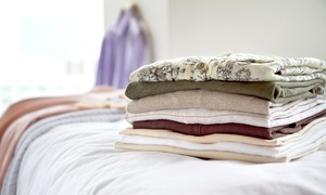 Up to 55% Off Wash and Fold Laundry Service at The Lost Sock  at The Lost Sock, plus 6.0% Cash Back from Ebates.