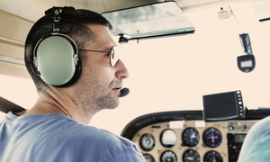 Worcester Flying Club: 30-Minute Introductory Flight Lesson for One or Two from Worcester Flying Club (Up to 58% Off)