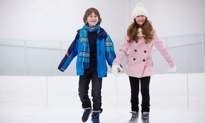 Shaw Park Ice Rink: Admission and Skate Rental for Two, Four, or Six at Shaw Park Ice Rink (50% Off)