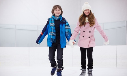 Ice-Skating Birthday Party Package for 12 or 20 at SoNo Ice House (Up to 36% Off)