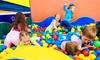 Astiaventura - Astiaventura: Entrada a parque de ocio infantil Astiaventura con merienda para uno o dos niños desde 4,95 €