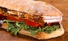 The Butcher's Market - Multiple Locations: Two or 10 Boxed Lunches With Choice of Artisan Sandwiches at The Butcher's Market (Up to 40% Off)