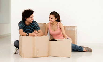 Two or Three Hours of Moving Services with Movers and One Truck from Astronaut Movers (Up to 50% Off)
