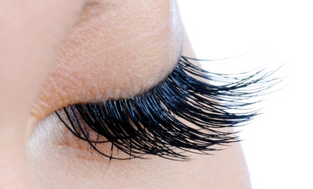 Eyelash Extensions with Optional Fill from Erin Bell at Elements Hair & Nail Studio (Up to 54% Off)