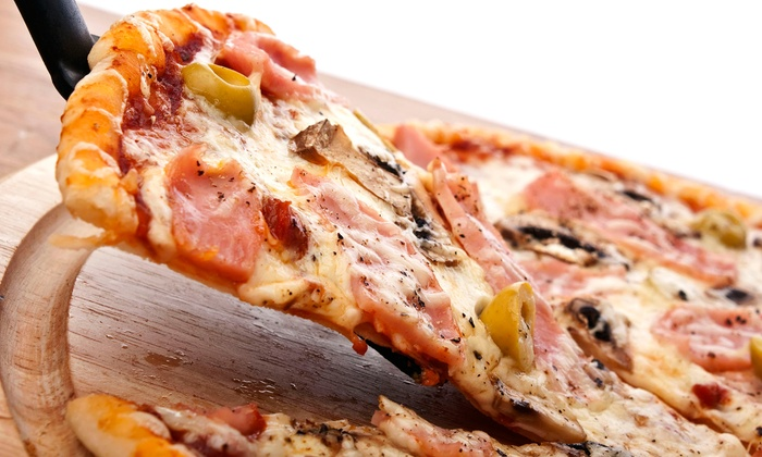 City Slice - Clinton: Pizza at City Slice (Up to 58% Off). Four Options Available.