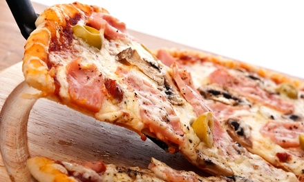 Pizza at City Slice (Up to 58% Off). Four Options Available.