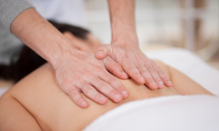 OneHour Remedial Massage for One $39 or Two People $75 at Plus Health Clinic, Two Locations Up to $180 Value