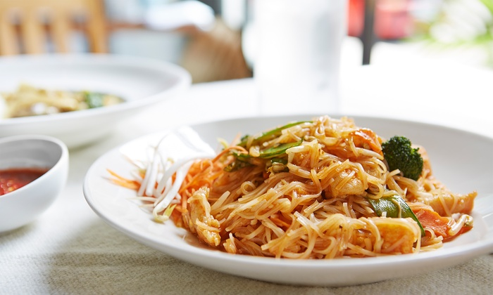 Nara Thai Dining Express - Houston: Thai Cuisine at Nara Thai Dining Express (35% Off). Two Options Available.