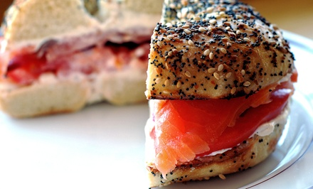Kosher Breakfast for Two or Four at Mozart Cafe (Up to 45% Off)