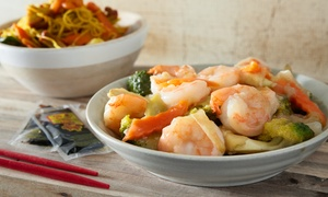 China Moon Restaurant & Lounge: $17 for $30 Worth of Chinese Food and Drinks for Two or More at China Moon Restaurant & Lounge