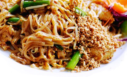 image for <strong>Thai</strong> Food at Lotus <strong>Thai</strong> House (Up to 48% Off)