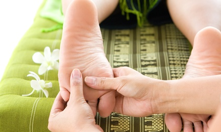 Foot Reflexology Package for One, or for Two with   Massage and Champagne at Yamato          (Up to 51% Off)