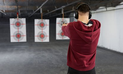 image for Shooting Range Experience for Two or Four People at Warrior Gun Shop And Range (Up to 75% Off)