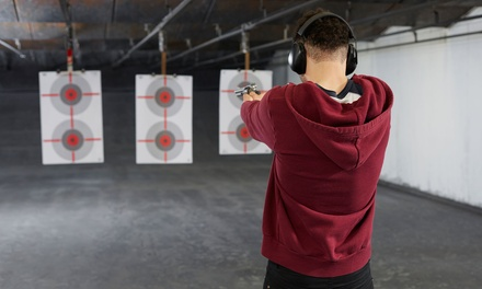 Shooting Package for One, Two, or Four at Tallahassee Indoor Shooting Range (Up to 46% Off)