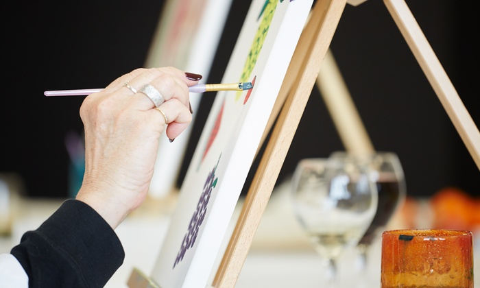 Little Art Pastiche Studio - Little Art Pastiche Studio: BYOB Painting Party for One or Two at Little Pastiche Art Studio (Up to 46% Off)