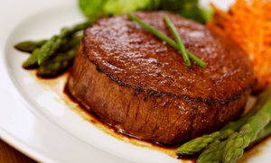 Macleay Country Inn: Steak-House Cuisine for Two or Four at Macleay Country Inn (60% Off)