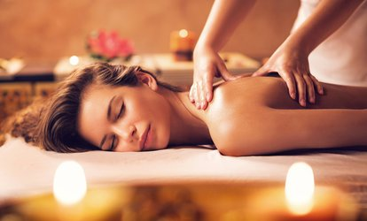 image for One-Hour Full-Body Swedish or Aromatherapy Massage at PureSun (50% Off)