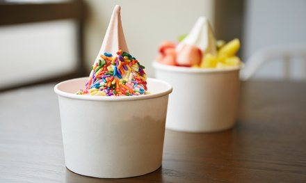 $12 for Four Groupons, Each Good for $5 Worth of Frozen Yogurt at Tutti Frutti ($20 Total Value)