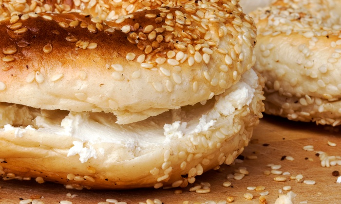 Sam's North Arlington Bagels - North Arlington: One Dozen Bagels and Cream Cheese or $12 for $20 Worth of Bagels at Sam's North Arlington Bagels