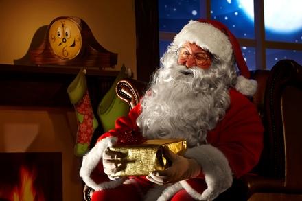 Train to Santa's Workshop at Orange Empire Railway Museum on November 29 - December 16