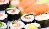 Sushibox met 22-110 sushi's
