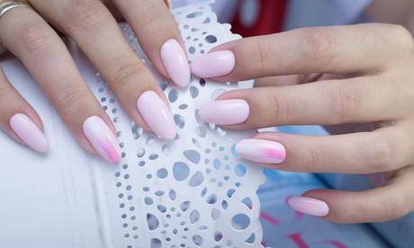 Full Set of Acrylic Nails with Optional Nail Design at Blush Makeup and Hair (Up to 52% Off)