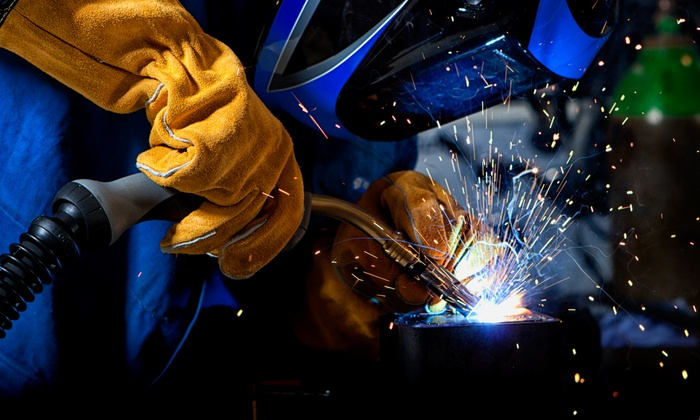 Metal Shop Fantasy Camp - East Williamsburg: One-Hour Introduction to Welding Class for One or Two at Metal Shop Fantasy Camp (Up to 50% Off)