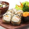 Sushi-Menü mit Miso-Suppe