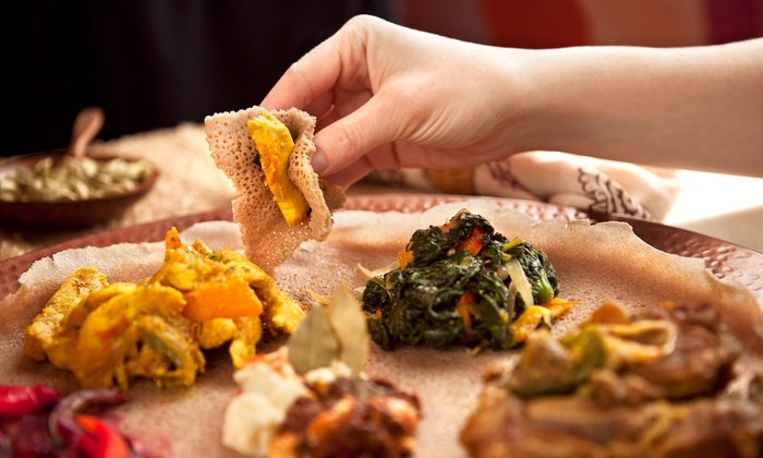 Mudai Restaurant - Auzerais - Josefa: Ethiopian Food for Two or Four at Mudai Restaurant (Up to 40% Off)