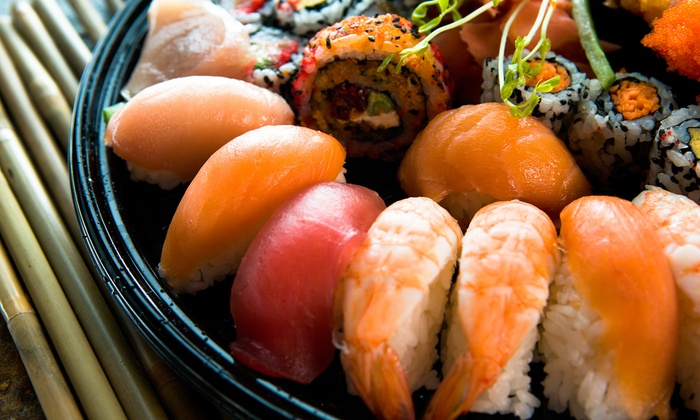 Kinki - Ottawa: Sushi Lunch or Dinner Package with Cocktails for Two at Kinki (Up to 50% Off)