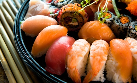 Sushi Lunch or Dinner Package with Cocktails for Two at Kinki (Up to 50% Off)