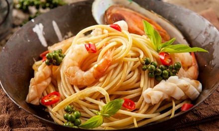 Italian Food for Two or Four, or Delivery or Carryout at Il Giardino Restaurant & Pizzeria (Up to 40% Off)
