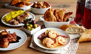 Urchin Bar: Mediterranean Tapas and Wine for Two ($25) or Four People ($45) at Urchin Bar, Hampton (Don't Pay Up to $124)