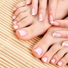 Manicure, pedicure e smalto -90%