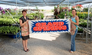 Protos Group: Custom Printed Banner at Protos Group (Up to 57% Off). Four Options Available.