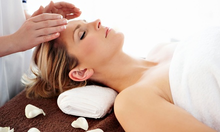 60-Minute Massage or Reiki Session from Madelyn at Green Spa Village Holistics (47% Off)