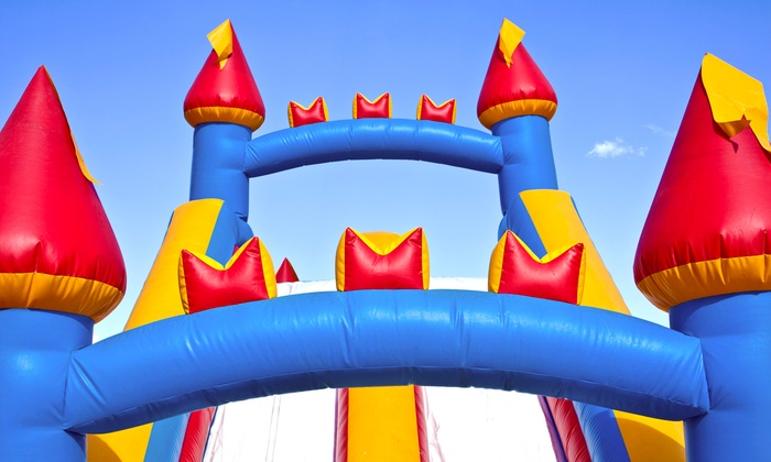Jump Around Party Rentals - Austin: 24-Hour Inflatable-Slide and Concession Rental from Jump Around Party Rentals (45% Off)