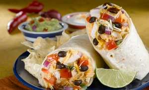 Fresh Mexican Cuisine at Baja Fresh (48% Off). Eight Options Available.