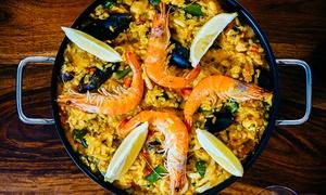 Degustibus: Un kg di paella valenciana con bottiglia di vino per 2 persone al ristorante Degustibus, Abano Terme
