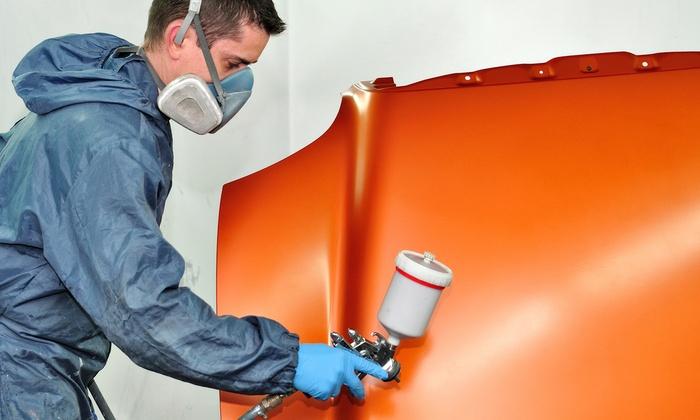 Automotive paint service er custom automotive groupon for Full body paint job