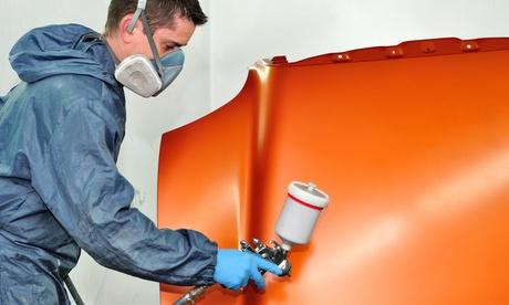 Servicio de chapa y pintura por 49,90 € por descuento de 400 € en Morauto Motor Oferta en Groupon